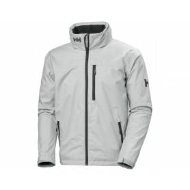 Crew hooded jacket grey fog