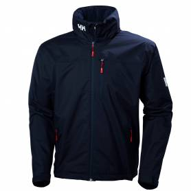 Crew hooded jacket navy