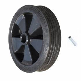 Ruotino carrello con perno 200x45mm