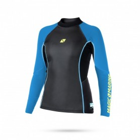 Ultimate vest L/S neoprene 3mm flatlock WOMAN