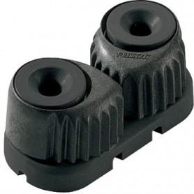 Strozzatore medio nero, base nera