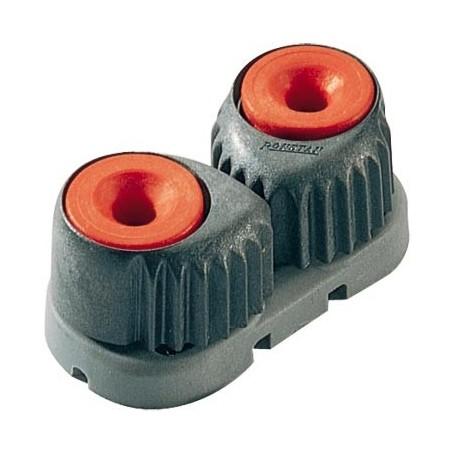 Strozzatore piccolo, rosso, base grigia