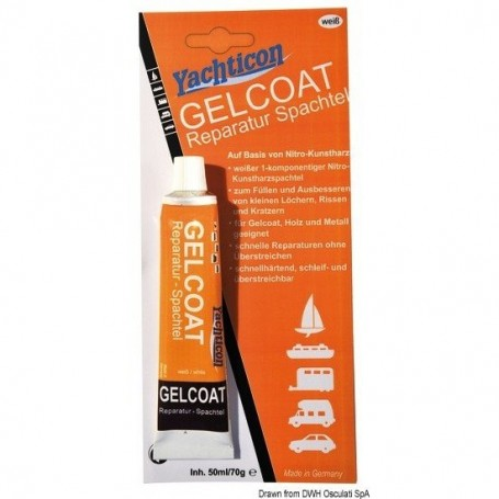 White Gel-coat Yachticon