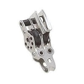Bozzello doppio con strozzatore micro 17mm
