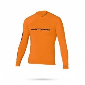 Lycra Cube L/S arancio