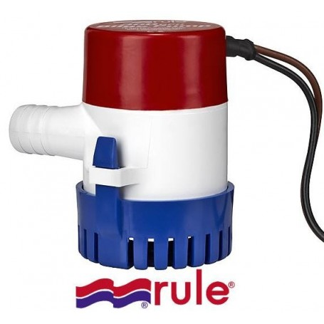 Bilge pump Rule 500 GPH 36 l/min