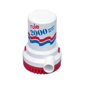 Pompa Sentina Ad Immersione Rule 24 Volt 2000 Ghp 135 Lt/Min