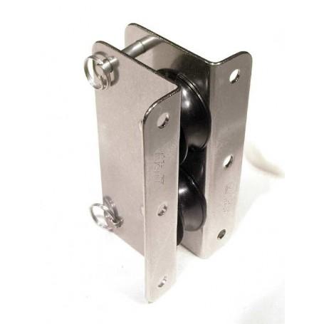 Double lead block 25mm - 8mm sheet