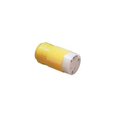 Plug stainless steel Marinco female 16 To