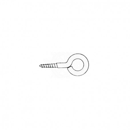 Eyebolts stainless steel screw, 32 x 3.5 mm