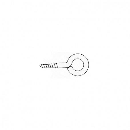 Hexagonal stainless steel screw 38 x 4 mm