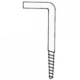 Hook In stainless steel Stainless Steel Screw