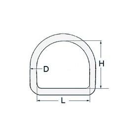 Half-Ring Ø6 X 40
