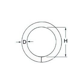 Ring Round Ø6 X 50Mm