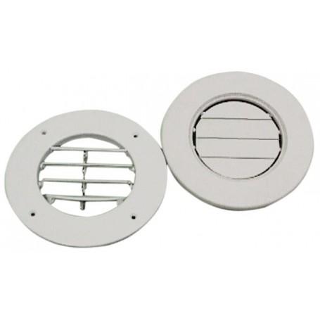 Grid ventilation plastic