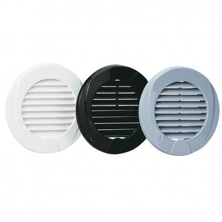 Grid ventilation white Ø76