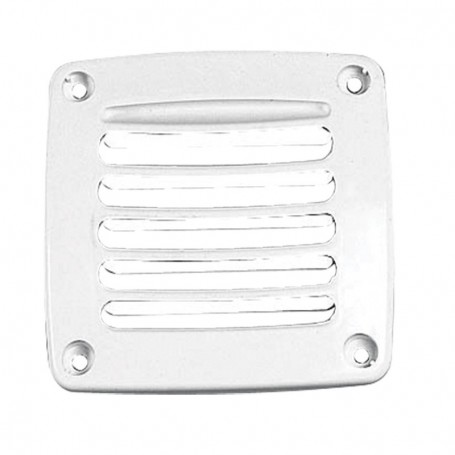 Outlet air white 92x92mm