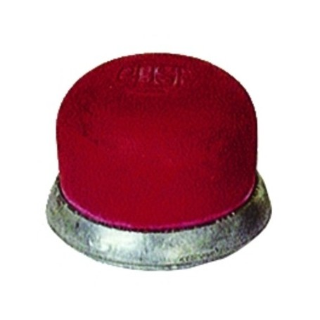 Cap Rubber Red