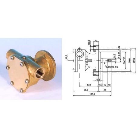 Pompa raffreddamento motore ST139