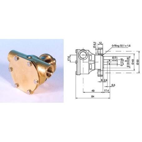 Pompa raffreddamento motore ST135