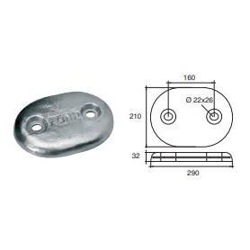 Anode Hull Or Transom
