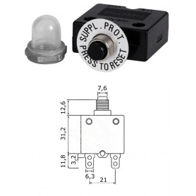 Automatic fuse with thermal protection 10 Ampere