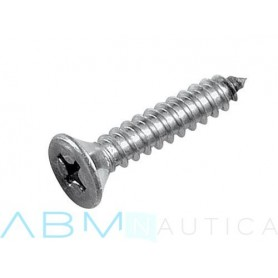 Self-tapping screw with countersunk head Ø3