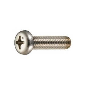 Through screw flat head Ø5 20mm Size