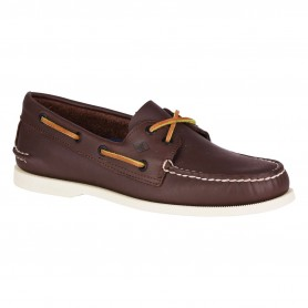 A / O brown boat shoes