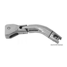 The joint Still Rotates Trimmer Stainless Steel 10-12 mm