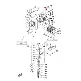 Guarnizione coperchio testa 4AC-4AS-5C-5CS
