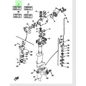 Kit guarnizioni testa motore 3A
