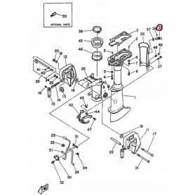 Vijak nosač motora 4 - 5cv 2-taktni