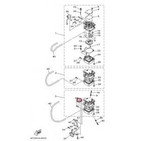 Brtva vijak-čišćenje karburatora