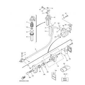 Membrana pompa benzina 20 - 100 hp