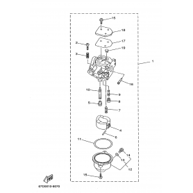 Vite regolazione aria F4A - F6A - F8C