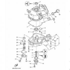 Guarnizione base cilindro F4B - F5A - F6C