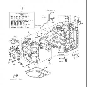 Internal motor anode 80 - 350 hp