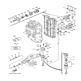Petrol membrane 80 - 150 hp 4-stroke