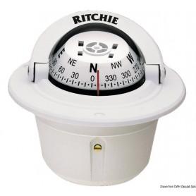 Kompas flush Ritchie bela