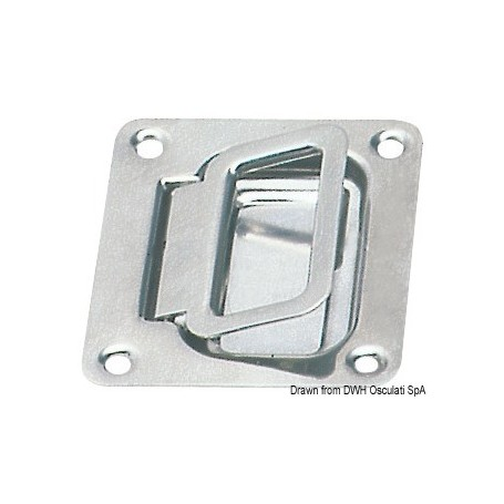 Handle In Polished Stainless Steel