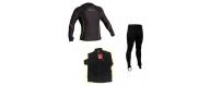 Maglie e pantaloni termici deriva