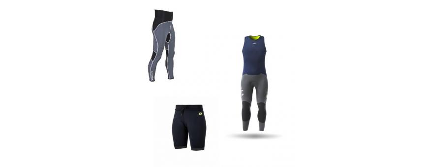 Obleke, hlače in tehnične long john na otroka