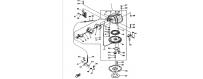 Starter motor 25Q-50D