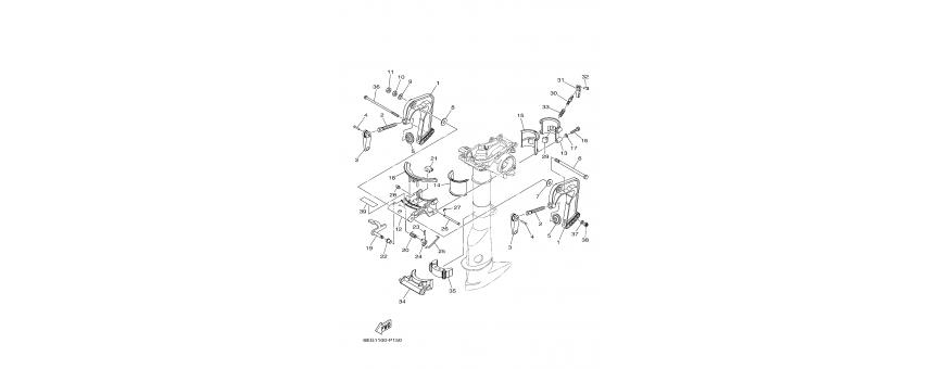 Engine mount F2.5B