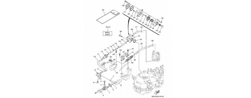 Body fuel pump F4B-F5A-F6C