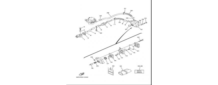 Body fuel pump F6A-F6B-F8C