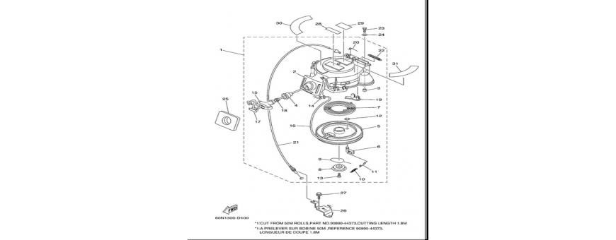 Starter F6A-F6B-F8C