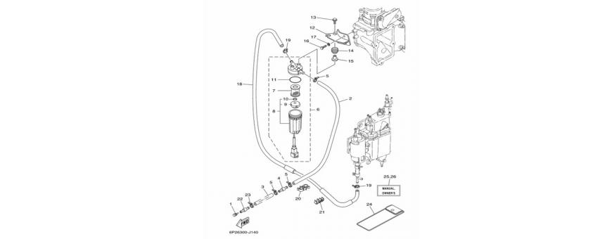 Fuel pump F250A-FL250A