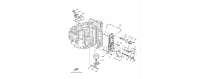The cylinder and the crankcase 3 F150A-FL150A